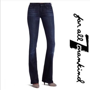 7 for all Mankind High Waisted Bootcut Jeans